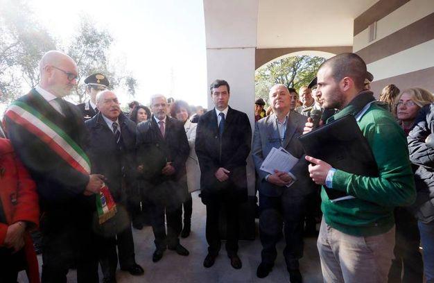 La cerimonia (Foto Pasquali)