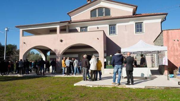 La villa sequestrata alla mafia (Foto Pasquali)