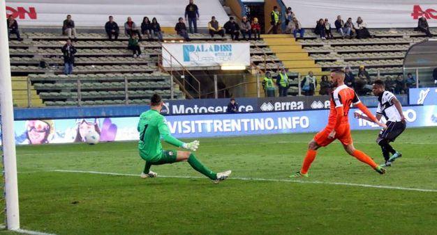 Baraye batte Lanni: 3-0 (foto LaPresse)