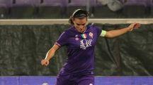 Fiorentina Women's, capitan Guagni in azione (Germogli)