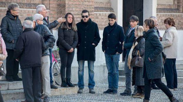 Al saluto a Nilde Caldarini ha partecipato anche il sindaco Zacchetti