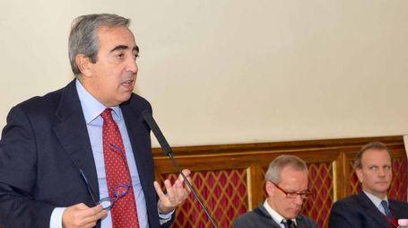 Il vicepresidente del Senato Maurizio Gasparri  (Forza Italia)