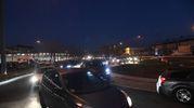 Rallentamenti ai caselli d'entrata (foto Schicchi)