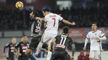 Napoli-Milan 2-1 (Ansa)