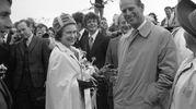 Elisabetta e Filippo nel 1978 (Lapresse)