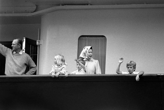 Nell'85 con tre nipoti (Lapresse)
