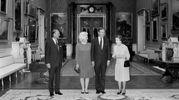 Nell'89 con i Bush (Lapresse)
