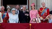 Quest'anno sul balcone di Buckingham Palace, (Lapresse)