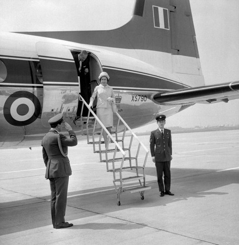 Nel '71 all'aeroporto di Heathrow (Lapresse)