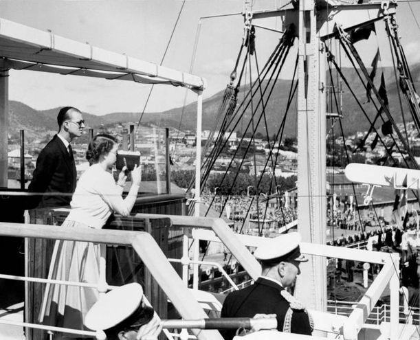 Nel 1954 in Tasmania (Lapresse)