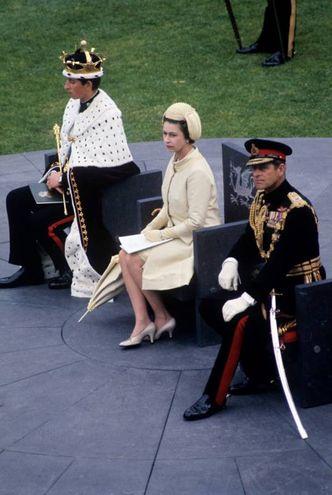 Nel 1969 al castello di Caernarfon (Lapresse)