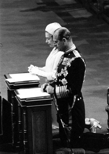 Nel 1977 alla Cattedrale di St Paul (Lapresse)
