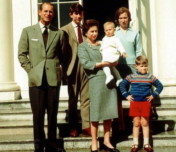 Foto di famiglia del 1965 (Lapresse)