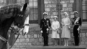 Nel '74 con i reali di Danimarca (Lapresse)
