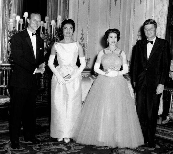 Nel 1961 con i Kennedy (Lapresse)