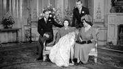 Nel 1948 con principe Carlo bebè (Lapresse)