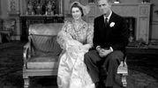 Nel 1950 con la piccola principessa Anna (Lapresse)