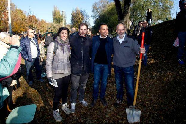 L'iniziativa del Movimento Cinque Stelle a Milano (Lapresse)