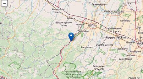 Terremoto a Parma, epicentro a Fornovo (Ansa)