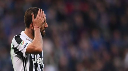 Juventus ko con la Sampdoria (foto Afp)