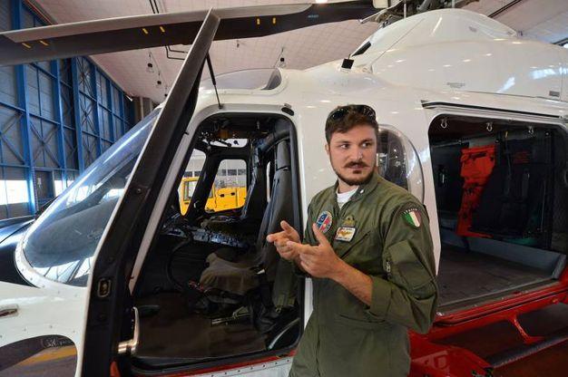Il sottotenente di vascello Gabriele Carella (foto di Luca Castellani)