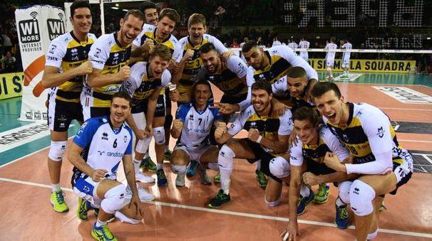La squadra a fine partita (foto Fiocchi)