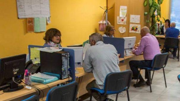 Un colloquio di lavoro al Centro per l'impiego di Urbino