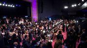 Il backstage del Victoria's Secret Fashion Show a Shanghai (foto Afp)