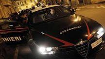 Sul luogo dell'incidente sono intervenuti i carabinieri