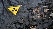 Simbolo delle radiazioni (foto d'archivio Afp)