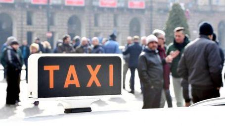 Sciopero nazionale di Taxi e Ncc (Ansa)