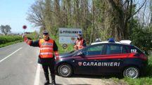 Sono intervenuti i Carabinieri di Pitigliano e Santa Fiora