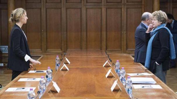 L'incontro del governo con i sindacati sulle pensioni (Ansa)