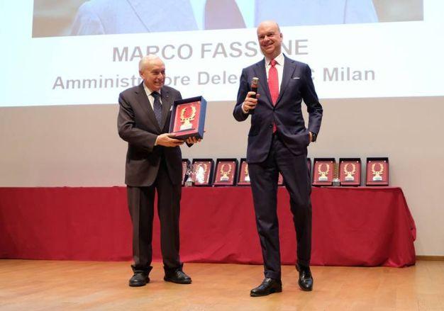 L'ad del Milan Fassone