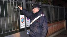 Sopralluogo dei carabinieri