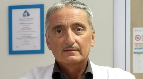 Il primario Domenico Samorani (Foto Petrangeli)