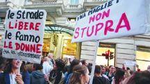 Donne, manifestazione contro la violenza