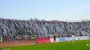 La curva dei tifosi del Livorno