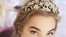 Il diadema di Swaroski firmato da Dolce e Gabbana