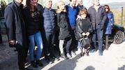 Salvini in visita a Fiastra (foto Conforti)