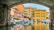 Una suggestiva immagine dei fossi in Venezia