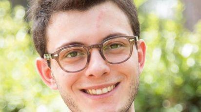 Luigi Genovese, 21 anni, recordman di preferenze alle elezioni siciliane (Ansa)
