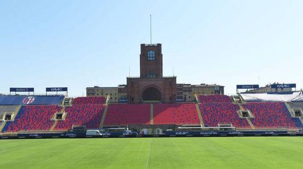 Lo stadio Dall'Ara