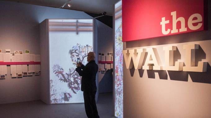 The Wall, la mostra a Palazzo Belloni fino al 6 maggio 2018 (Foto Schicchi)