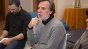 Claudio Mazzanti, curatore della msotra the Wall (Foto Schicchi)