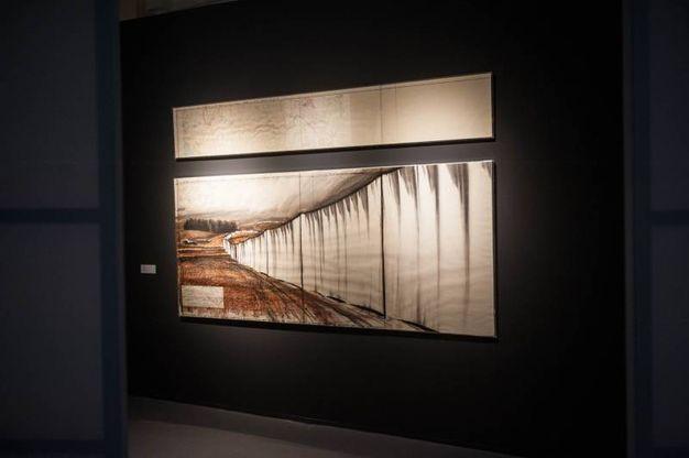 Una sala della mostra (Foto Schicchi)