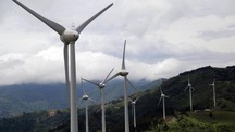 Un parco eolico in Costa Rica (Foto: LaPresse/XinHua)