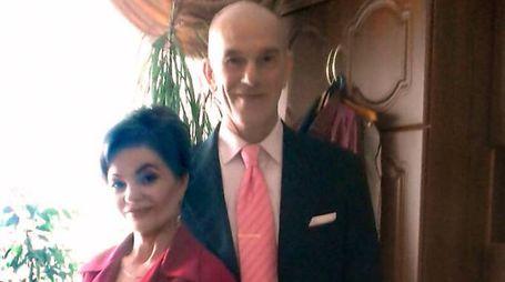 Svetlana Balica e il marito Nicola Pontiggia