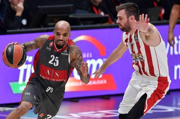 Le emozioni di Olimpia Milano-Olympiacos (foto Ciamillo)