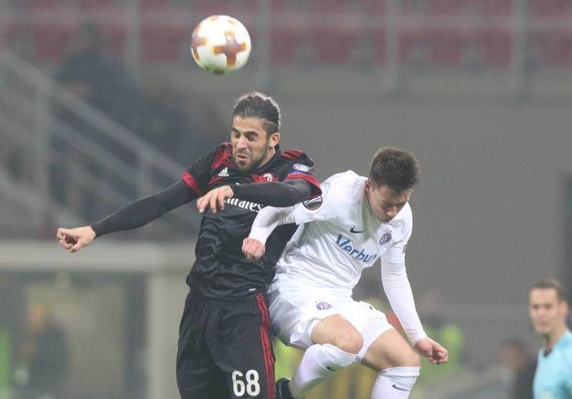Europa League, Milan-Austria Vienna  (foto Newpress)